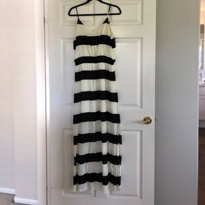 Vix Paula Hermanny Striped Maxi Dress